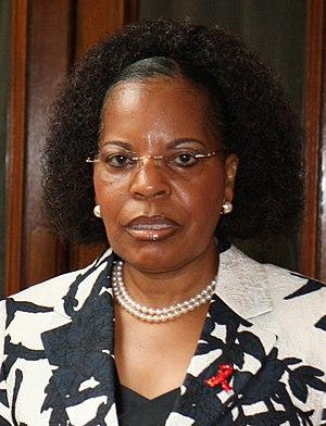 Armando Guebuza - Maria da Luz Guebuza, the First Lady of Mozambique, in London (June 2014).