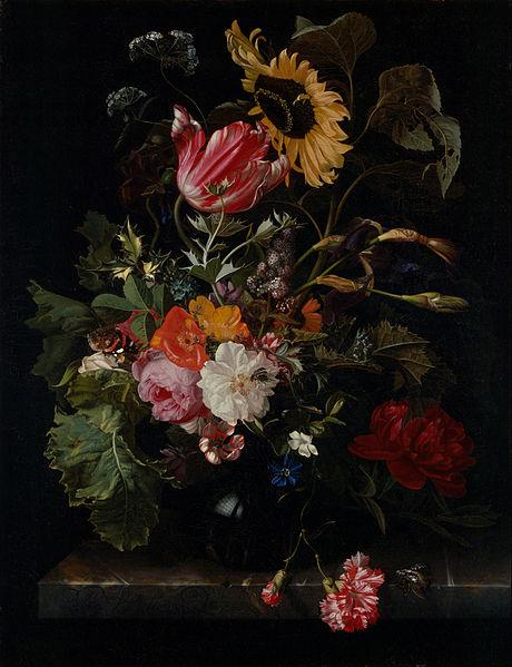 Archivo: Maria van Oosterwyck - Ramo de flores en un florero - Google Art Project.jpg