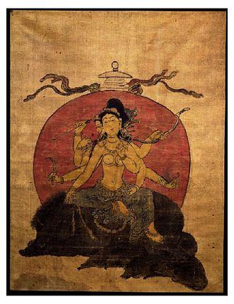 Marici (Buddhism) - Image: Marici by Choying Dorje