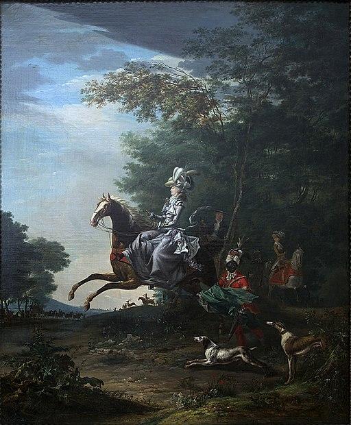 partenariat Château Versailles Wikimedia - Marie-Antoinette 1783 Brun Versailles 9082