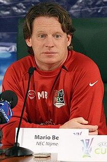 Mario Been Dutch footballer and manager
