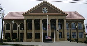 Das Marion County Courthouse in Lebanon