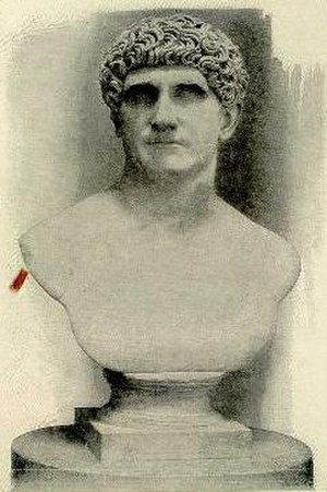 Battle of Mutina - Bust of Mark Antony
