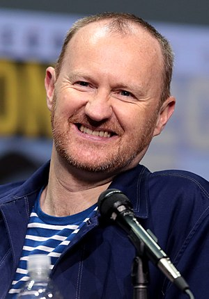 Mark Gatiss - Gatiss at the 2017 San Diego Comic-Con