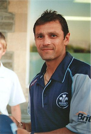 A photograph of Mark Ramprakash.