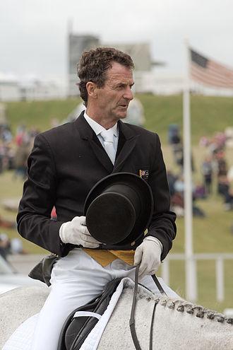 Mark Todd (equestrian) - Todd on Gandalf at the 2008 Barbury International Horse Trials
