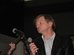 Markesmith fall thefall art gig london blooThe Fall gig at art show - Bloomberg Space, London.jpg