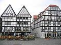 """Marktplatz, Soest, Hotel, Restaurant , Café, Bierstube, Weinstube """"Zum wilden Mann"""" (Thorsten u. Yvonne Pälmer) - panoramio.jpg"""