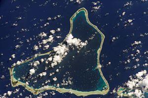 Marokau - NASA picture of Marokau Atoll