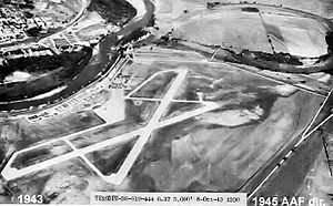 Marshall Army Airfield - Marshall Army Airfield 8 Oct 1943