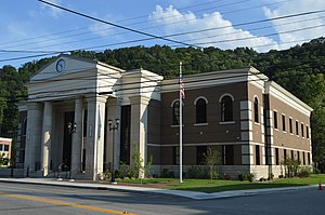 Martin County, Kentucky - Image: Martin County Government Center, Inez