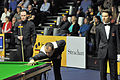 Martin O'Donnell, Mark Williams and Marcel Eckardt at Snooker German Masters (DerHexer) 2013-01-30 01.jpg
