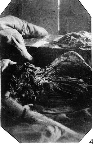 Mary Jane Kelly - Additional police photograph of the body of Mary Jane Kelly