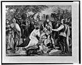 Mary of Scotland mourning over the dying Douglas at the Battle of Langside, 1568 LCCN2002695392.jpg