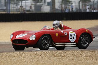 1956 World Sportscar Championship - Maserati placed second with the Maserati 300S (pictured)