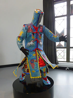 Gẹlẹdẹ - Gelede costume from the Yoruba-Nago of Benin, 2013