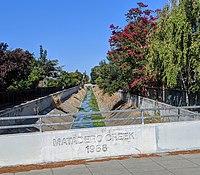 Matadero Creek at Ross Road.jpg