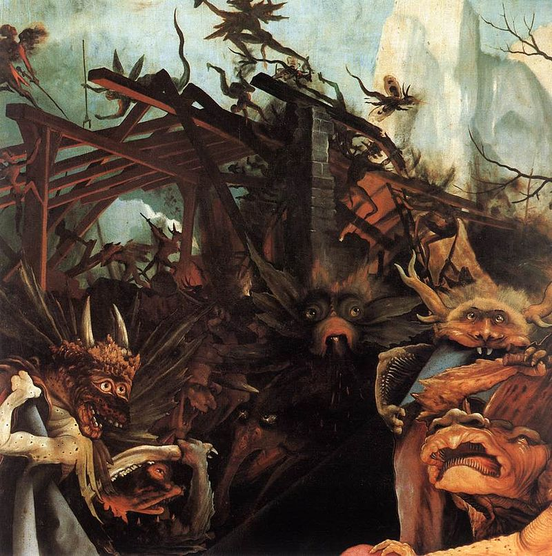 Matthias Grünewald - The Temptation of St Anthony (detail) - WGA10767.jpg