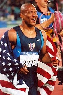 Maurice Greene (athlete) American sprinter