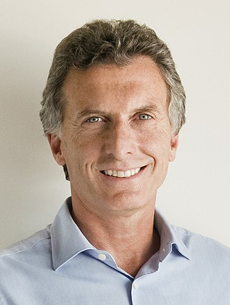 2015 Argentine general election - Image: Mauricio Macri (cropped)