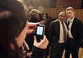 Mauricio Macri encabezó la celebración del 25° aniversario de la inauguración del Hospital Garraham (7997311671).jpg