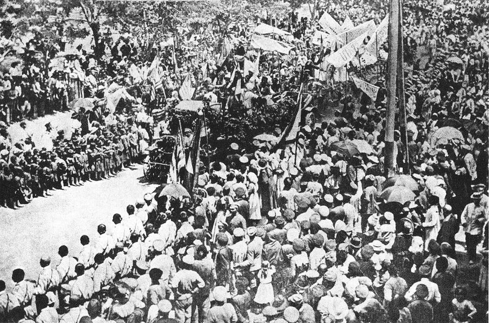May 28 1919 celebration Yerevan