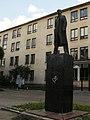 Mayakovsky statue, vologda.JPG