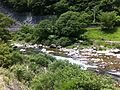 Maze river, Gero city. Gifu prefecture, Japan.jpg
