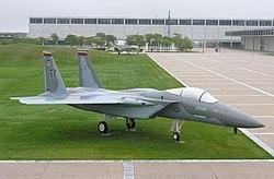 F-15 Eagle sur écran