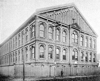 McDonogh 35 High School - McDonogh School 13 circa 1900; in 1917 this building would be repurposed as the first home of McDonogh 35.