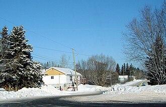 Baldwin, Ontario - Residential side street in McKerrow