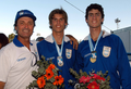 Medallistas ODESUR2006 atletismo Germán y Guillermo Chiaraviglio.png