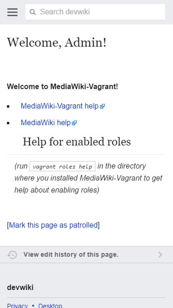 MediaWiki-Vagrant MobileFrontend Extension.png