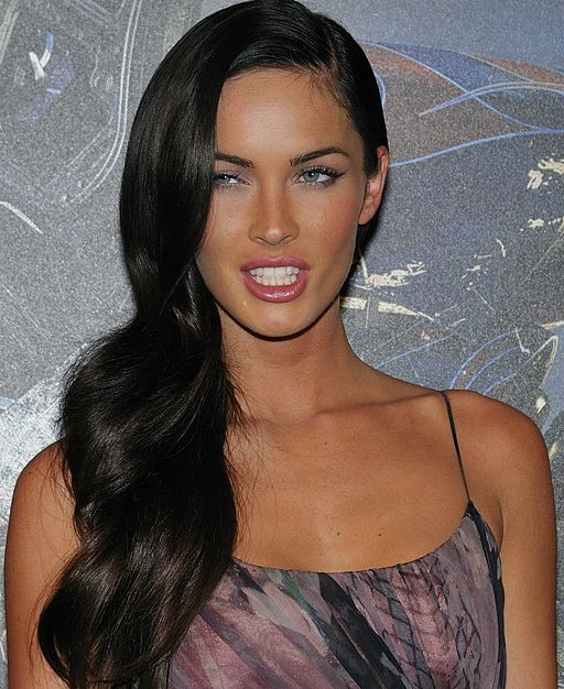 Megan Fox promoting Transformers in Paris