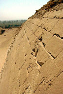 Meidum Pyramide Fassadendetail c