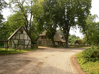 Rostock Heath - Meyers Hausstelle, a farmstead in the Rostock Heath