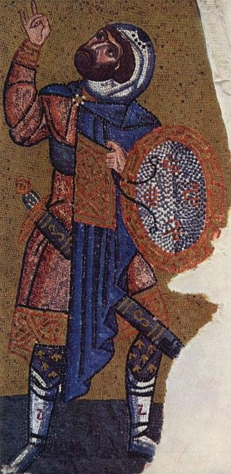 Longinus - Image: Meister der Nea Moni Kirche in Chios 005