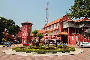 Roter Platz mit Christ Church und Glockenturm