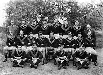 Melbourne University Football Club - Melbourne University - A grade premiership team of 1946