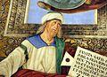 Melozzo da forlì, angeli coi simboli della passione e profeti, 1477 ca., profeta zaccaria 02.jpg
