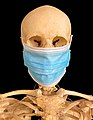 Memento Mori with Surgical Mask 20200425 5001 BG Black Portrait.jpg