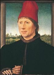 Portrait de l'homme au bonnet rouge