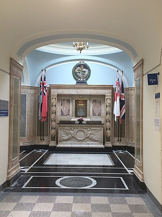 Memorial Hospital, Woolwich - Hall of Remembrance within the hospital