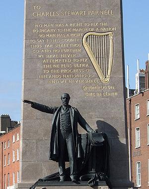 Augustus Saint-Gaudens - Parnell Memorial, Dublin