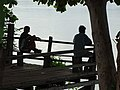 Men Looking Out over Tonle Sekong River - Stung Treng - Cambodia (48422278801).jpg