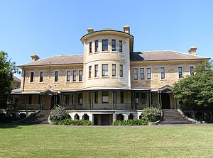Lilyfield, New South Wales - Kirkbride complex, Callan Park hospital