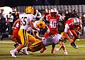 Mentor Cardinals vs. St. Ignatius Wildcats (9697268680).jpg