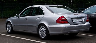 Mercedes-Benz E-Class (W211) - The W211 looked similar to the previous generation, but with a more modern and polished design.