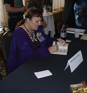 Mercedes Lackey - Image: Mercedes Lackey 1a