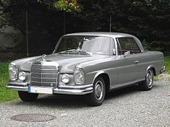 Mercedes W111 SE Fintail coupe